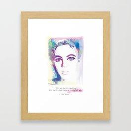 ...Another way... Framed Art Print