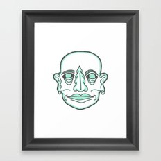 PUNK MONK Framed Art Print