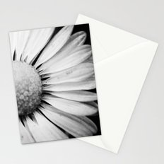 Black and White Flower Macro photography monochromatic photo Stationery Cards