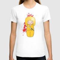 kill bill T-shirts featuring Kokeshi Beatrix of Kill Bill by Pendientera