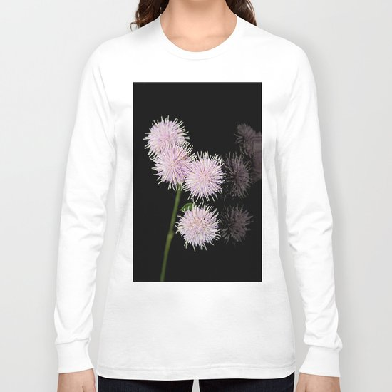 Pom pom Flower group Long Sleeve T-shirt
