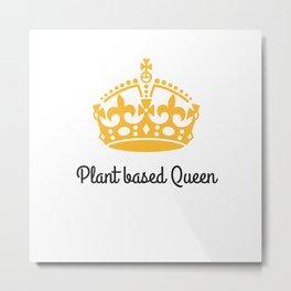 Plant Queen Metal Print