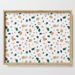 Tropical Terrazzo Serving Tray