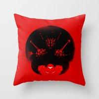 Super Metroid Throw Pillow