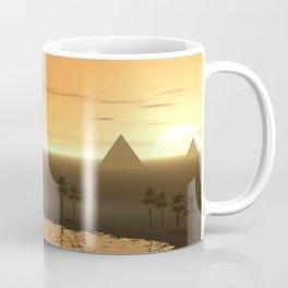 The Giza Necropolis Coffee Mug