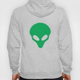 Green Alien Head TShirt Funny Extraterrestrial Life Gift Tee Hoody