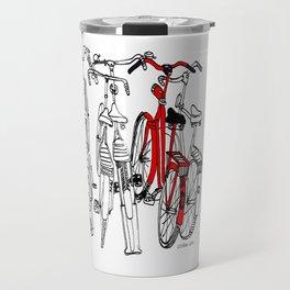 Red bike Travel Mug