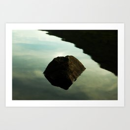 Lake, New York Art Print