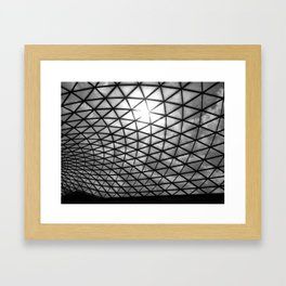 British Museum. Framed Art Print