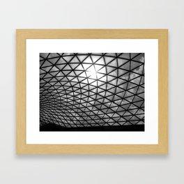 British Museum. Framed Art Print