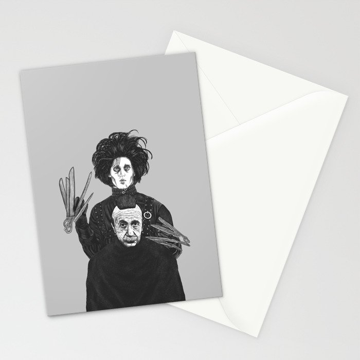 Bored With My Old Hairstyle Stationery Cards