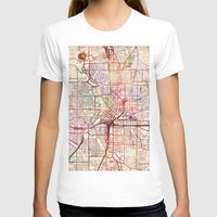 atlanta T-shirts featuring Atlanta by MapMapMaps.Watercolors