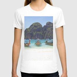 Maya Bay, Phi Phi Island, Thailand T-shirt