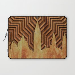 Venice - King of the sea - Wood decoration Laptop Sleeve