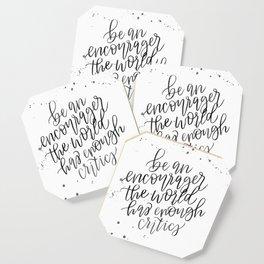 Be an Encourager Coaster