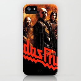 judas priestt 666 tour dates 2018 / 2019 kfc blackwhite iPhone Case