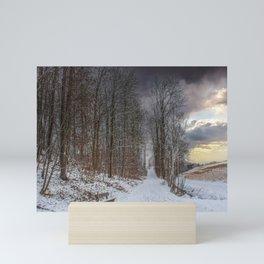 DE - Baden-Württemberg : Winterscenery Mini Art Print