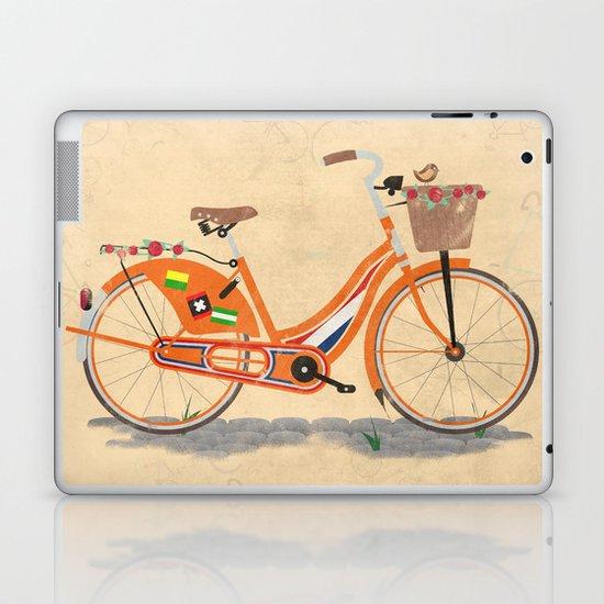 Love Holland, Love Bike Laptop & iPad Skin