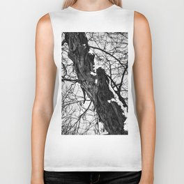 Bark and snow Biker Tank