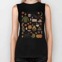 Autumn Nights Biker Tank