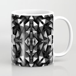 Silver Roses in Starlight Coffee Mug