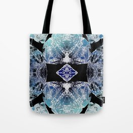 Turquoise Mandala-Throat Chakra Tote Bag