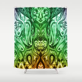 ayahuasca Shower Curtain