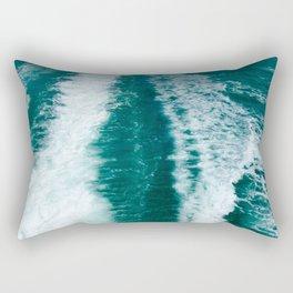Wake of the Spirit- Hervey Bay QLD Rectangular Pillow