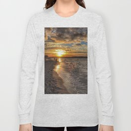 Sunbathing in the Winter time Long Sleeve T-shirt