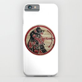American Native Pattern No. 303 iPhone Case