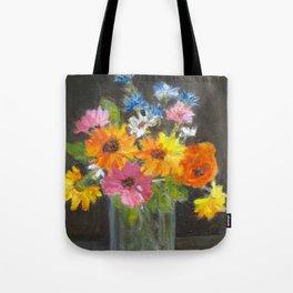 Fun flower arrangement Tote Bag