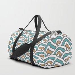 Funky Pattern Duffle Bag