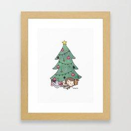 Christmas Surprise Framed Art Print