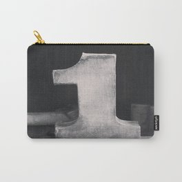 Number Crazy #1  Carry-All Pouch