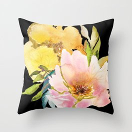 Wildflowers – for a Fresh Breeze Throw Pillow