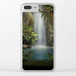 The Jungle Clear iPhone Case