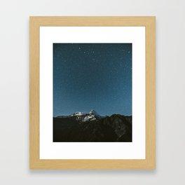 Annapurna Himalayas Framed Art Print
