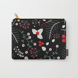 mistletoe black Carry-All Pouch