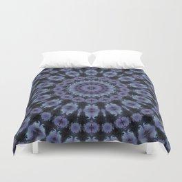Blue kaleidoscope . Duvet Cover