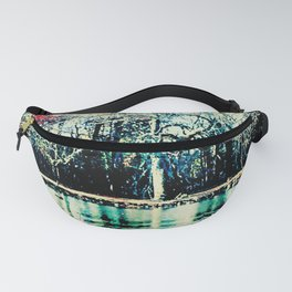 White in the Forest Fanny Pack