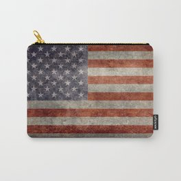 USA flag - Retro vintage Banner Carry-All Pouch