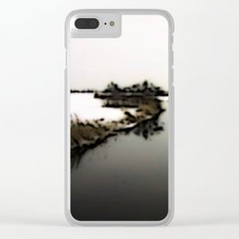 Stagnant moment Clear iPhone Case
