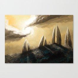 Ray of Light 3 Canvas Print