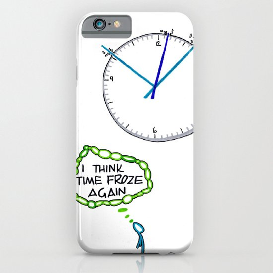 Shattered Frozen Time iPhone & iPod Case
