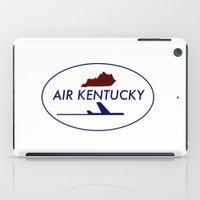 kentucky iPad Cases featuring Air Kentucky by FunnyFaceArt