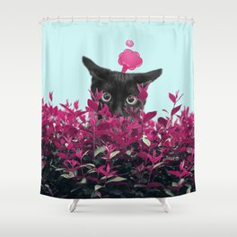 Oops! Shower Curtain