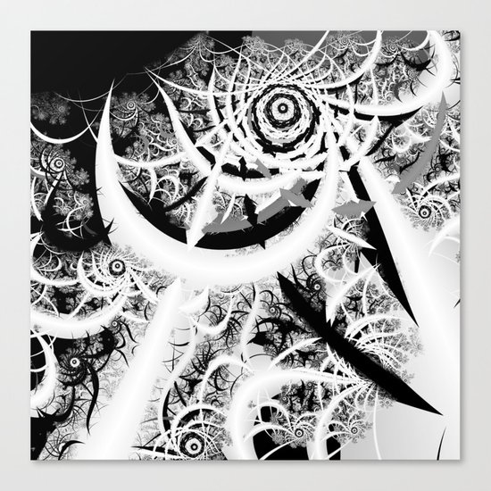 Through the Void Canvas Print
