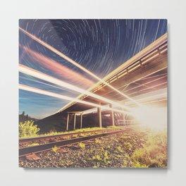 'Midnight Train to Georgia' Metal Print