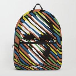 Stripe Skull Backpack