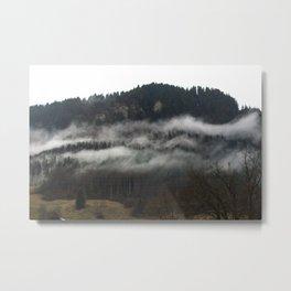 Swiss Fog V Metal Print
